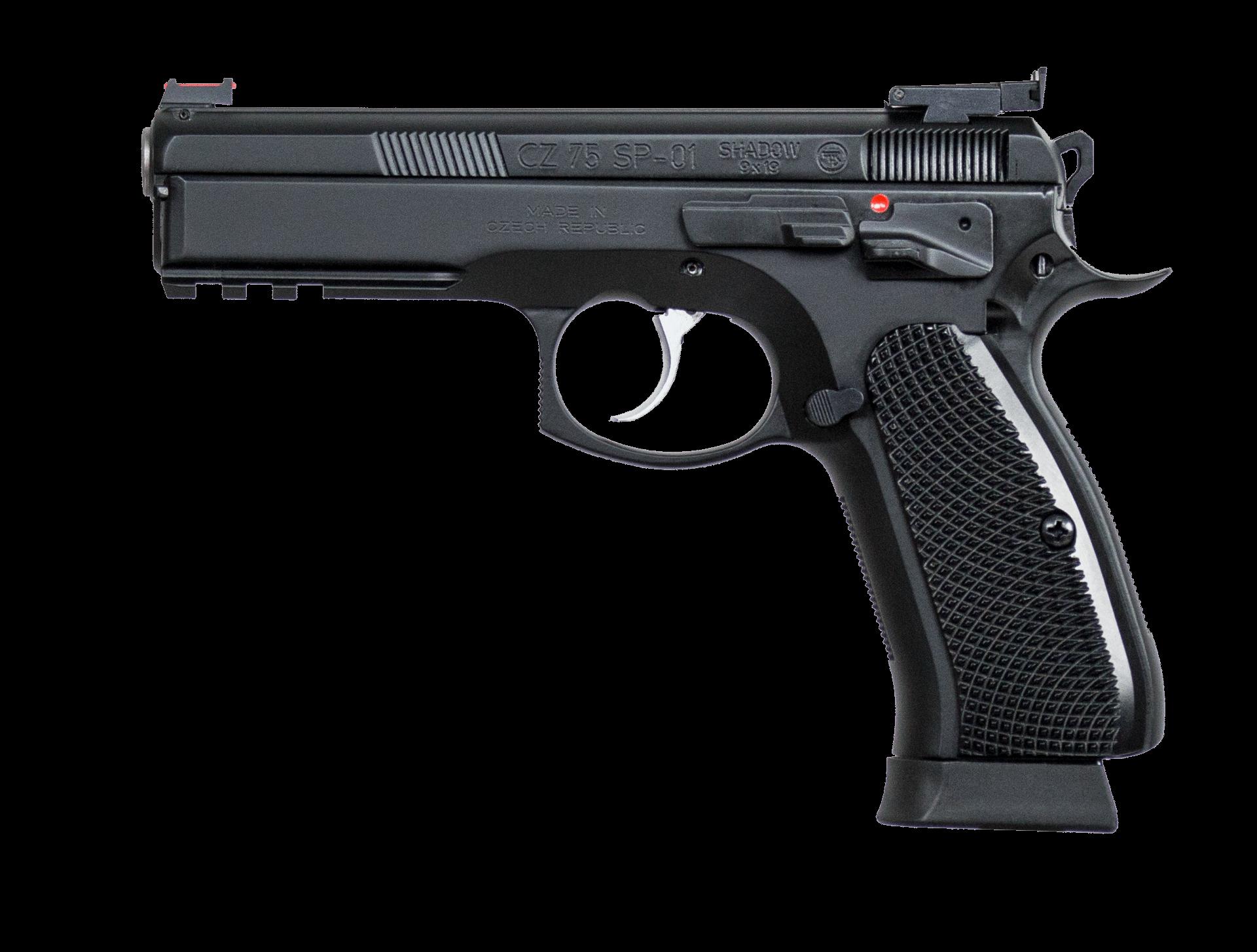 CZ 75 SP-01 9mm Shadow Target II – (CZ Custom) 91760