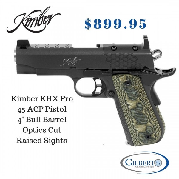 Kimber 1911 KHX Pro Optics Ready 45 ACP Pistol 3000362