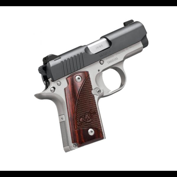 Kimber 1911 Micro Pistols: Kimber Micro 9mm Two Tone Rosewood Pistol 3300099