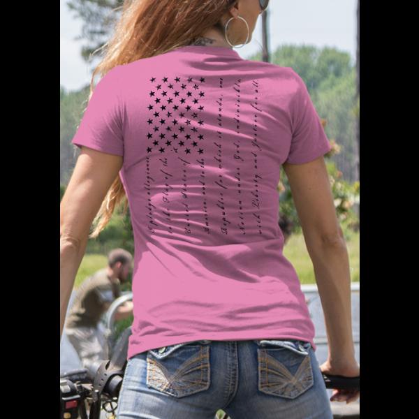 Nine Line Apparel The Pledge Womens T-Shirt