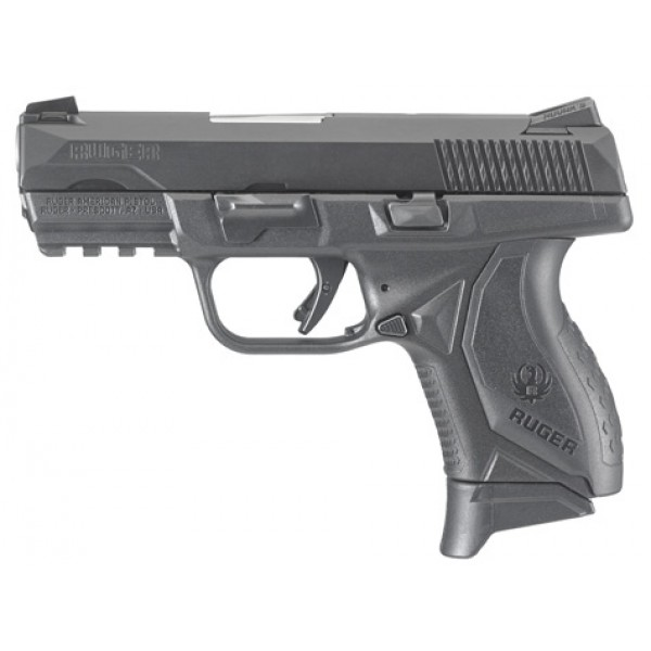 ruger american pro compact 9mm pistol with 3 55 barrel