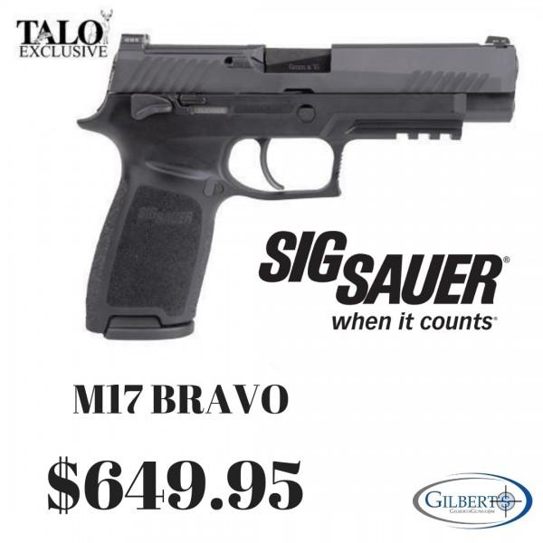 Sig 320 M17 Bravo 9mm Pistol 320F-9-M17-MS-BRAVO