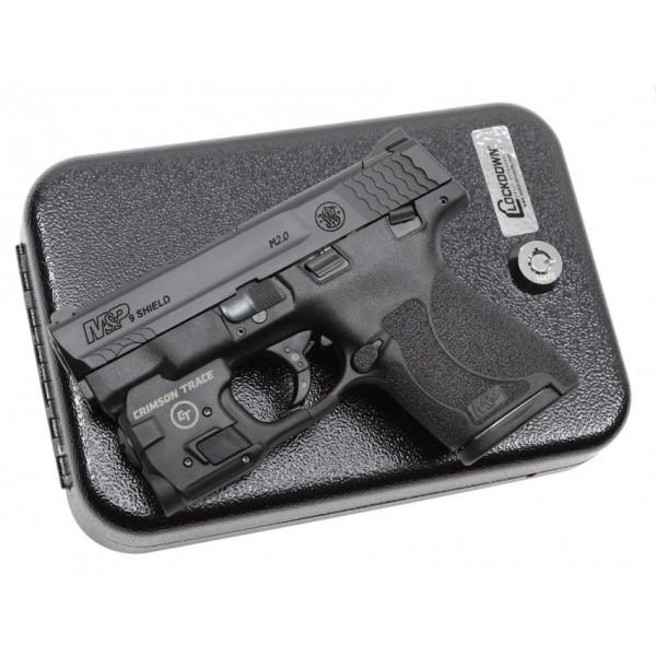 Smith & Wesson M&P Shield 2 0 9mm Pistol With Crimson Trace Light & Vault  12935