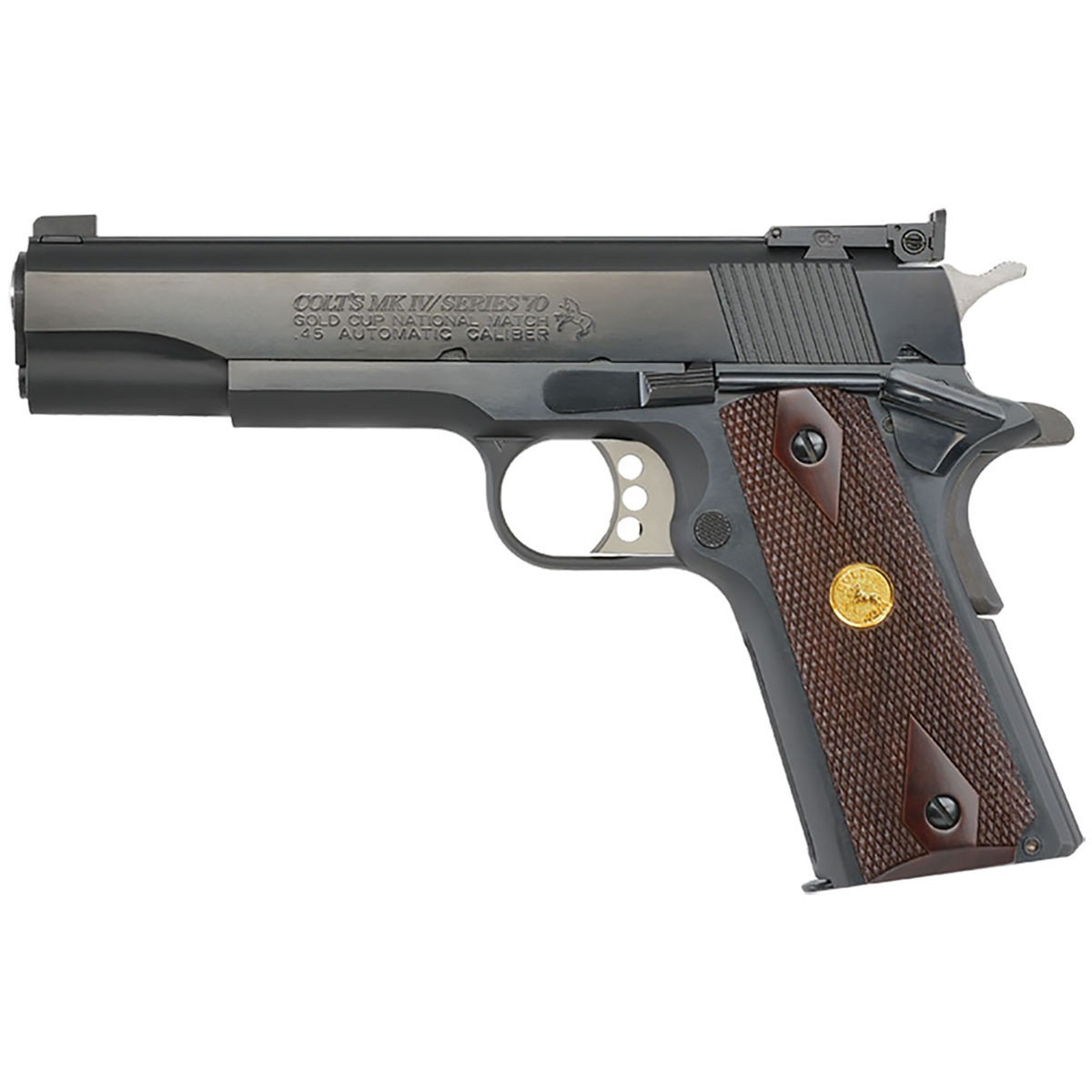 Colt Gold Cup National Match 45 Acp Pistol With 2