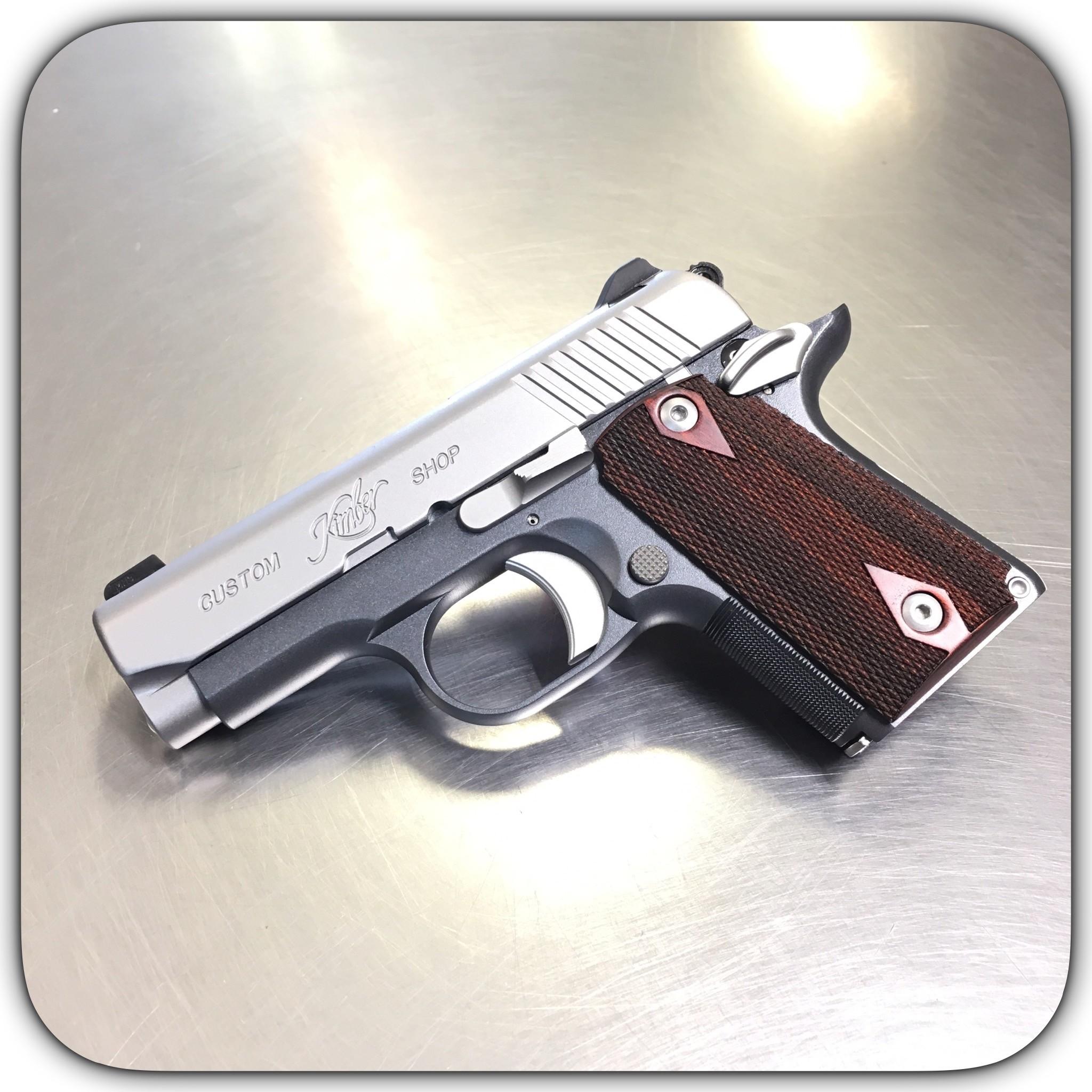 Kimber 1911 Micro Pistols: Kimber Micro 9 CDP Custom Shop 9mm Pistol 3300097