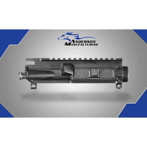 Anderson  AR15 Mil Spec Upper Receiver With Forward Assist & Dust Cover.  B2-K6000-A000-0P