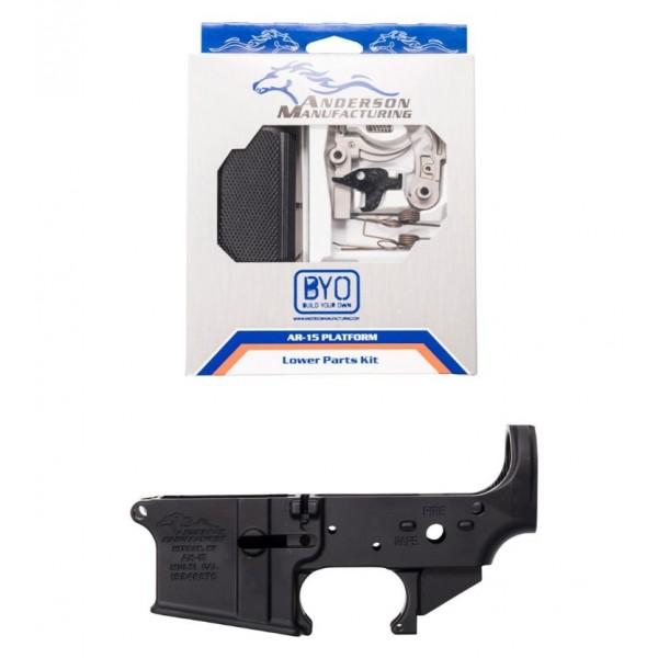 Anderson AR15 Lower Receiver With LPK G2-K401-A000