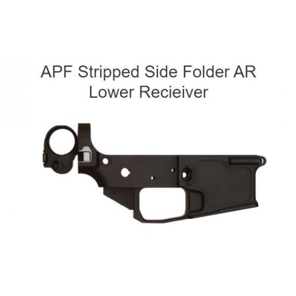 APF Stripped Side Folding AR15 Lower Receiver LP-SF1