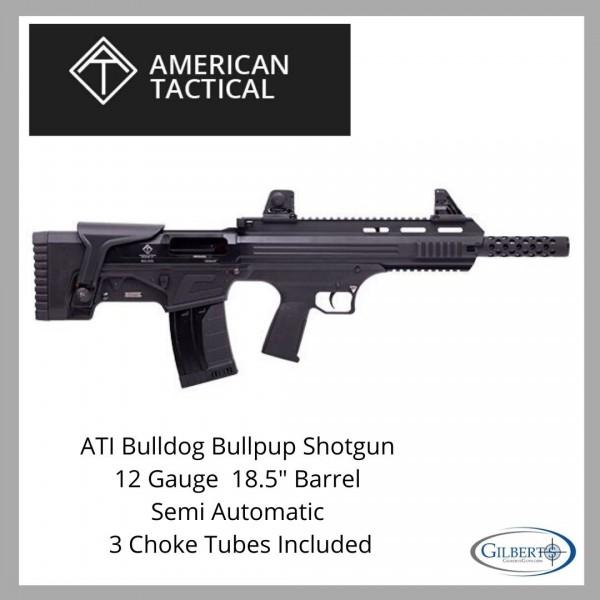 "American Tactical Bulldog 12 Gauge 18.5"" Bullpup Shotgun ATIG12BDB"
