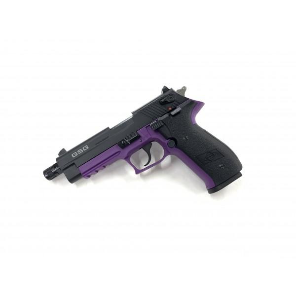 GSG Firefly 22LR Pistol With Threaded Barrel Purple GERG2210TFFL