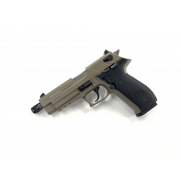 GSG Firefly 22LR Pistol With Threaded Barrel Tan GERG2210TFFT