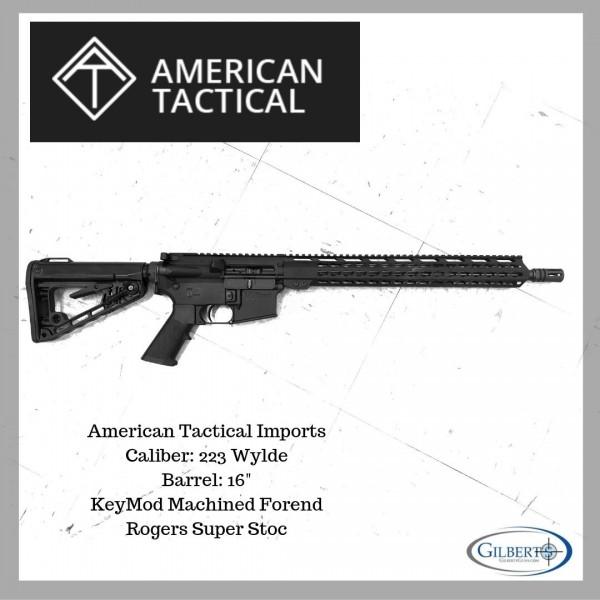 ATI Milsport RIA 223 Wylde Rifle With Keymod Rail System ATIG15MS223WMM