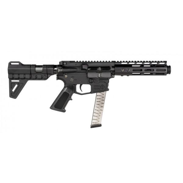 "ATI MIsport 9mm AR15 Pistol With 7"" Barrel, MLOK Forend & Blade Brace ATIG15MSP9ML7"