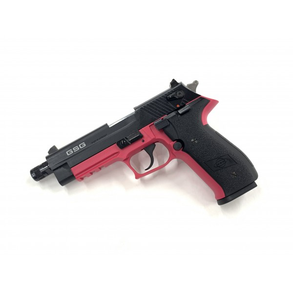 GSG Firefly 22LR Pistol With Threaded Barrel Pink GERG2210TFFP