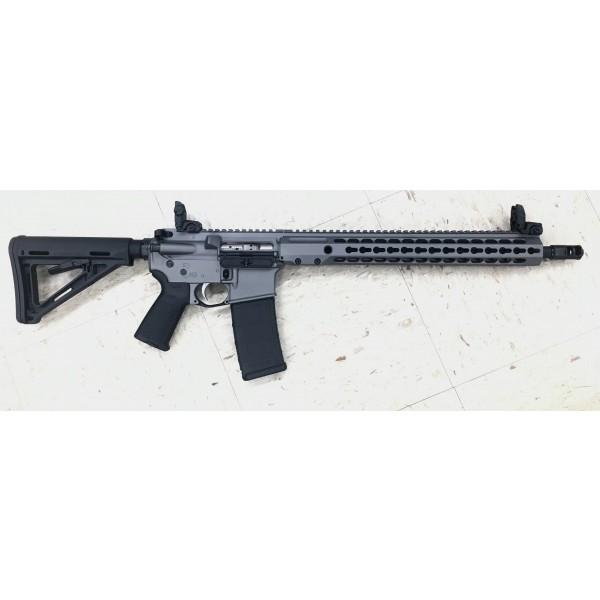 """Barrett REC7 DI 5.56 Tungsten Gray Rifle With 16"""" Barrel & KeyMod Forend"""