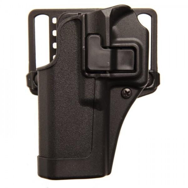Blackhawk 410568BK-L Serpa Holster For GLOCK 43 9mm Pistols Left Hand