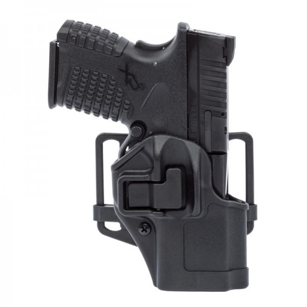 "Blackhawk Serpa Holster For Springfield XD XDM 4"" RH Matte Black 410507BK-R"