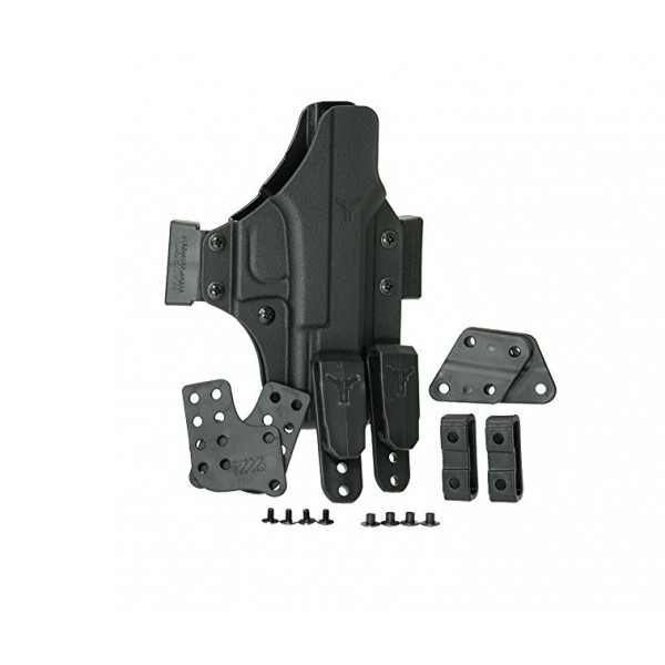 """Blade Tech Total Eclipse IWB/OWB Holster For 1911 5"""" Pistols"""