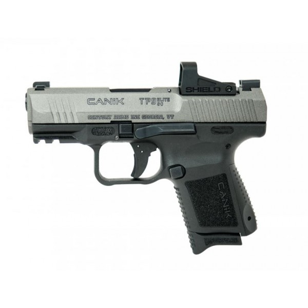 Canik TP9 Elite SubCompact 9mm Tungsten Grey Optics Ready Pistol With  Shield SMS2 Optic HG5610TV-N