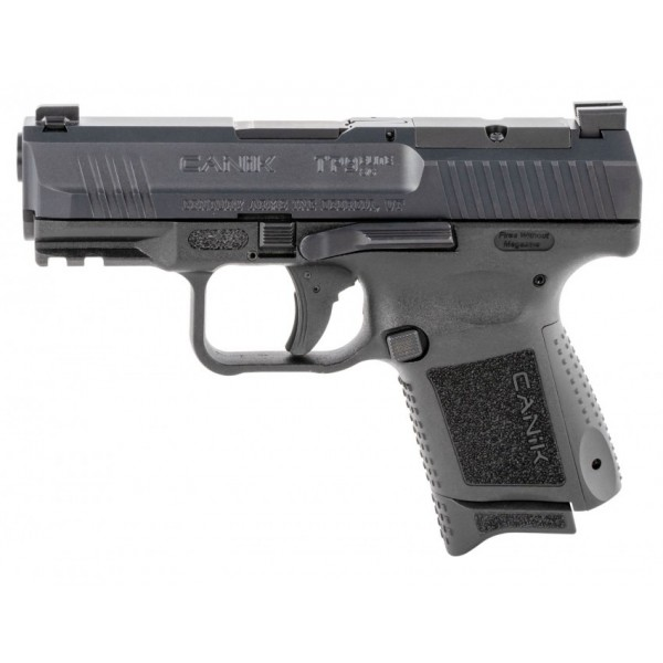Canik TP9 Elite SubCompact 9mm With Holster 1-12 & 1-15 Round Factory Magazine HG5643-N<p>  The Century TP9 Elite Subcompact pistol features interchangeable backstraps, reversible mag release, match grade barrel, and an integral accessory picatinny rail.