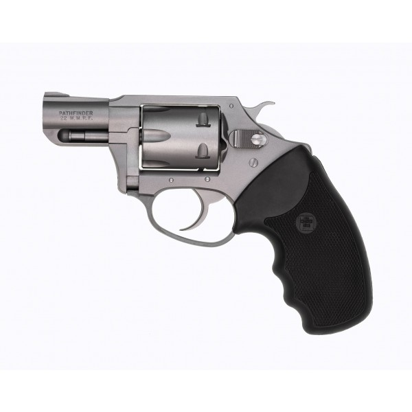 """Charter Arms Pathfinder 22 Magnum Stainless Steel 6 Shot Revolver With 2"""" Barrel 72324"""