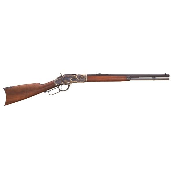 "Cimarron 1873 Short 45LC Rifle With 20"" Octagon Barrel CA281"