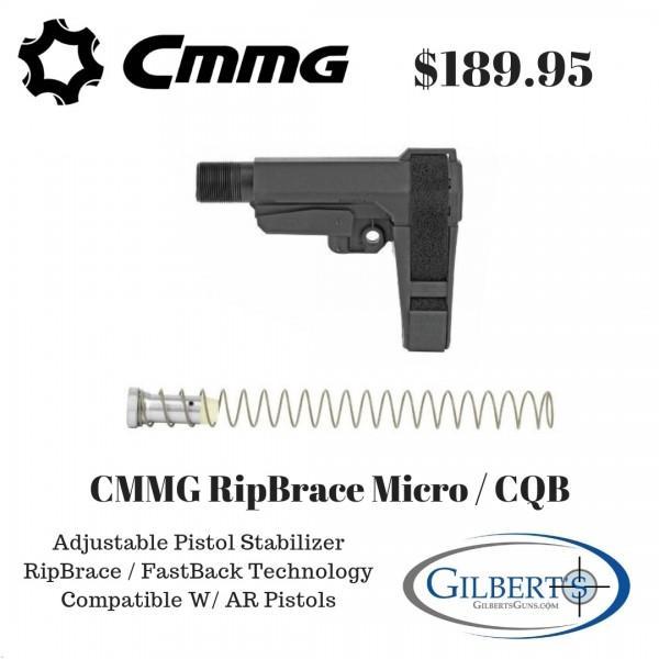 CMMG RipBrace Micro / CQB Receiver Extension & Brace Kit 55CA957