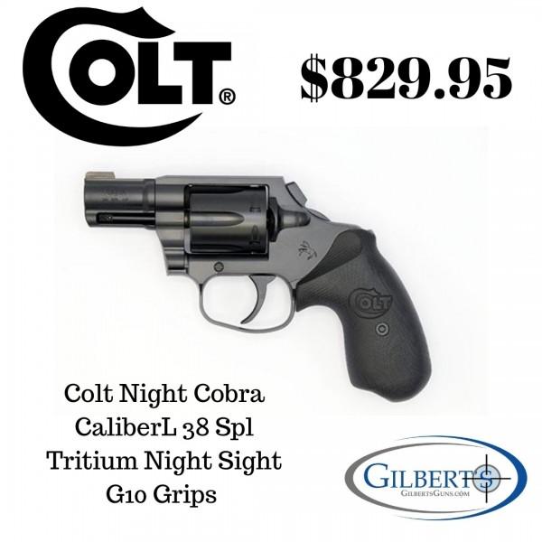 Colt Night Cobra 38 Spl Revolver With Night Sight COBRA-MB2NS