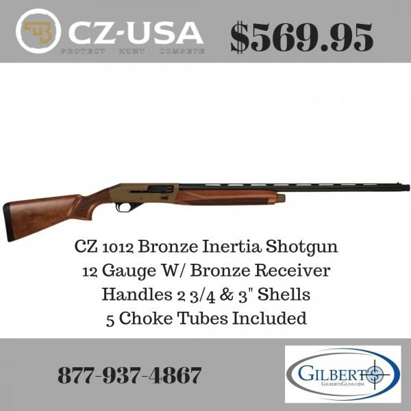 "CZ 1012 Bronze 12 Gauge 28"" Shotgun 06353"