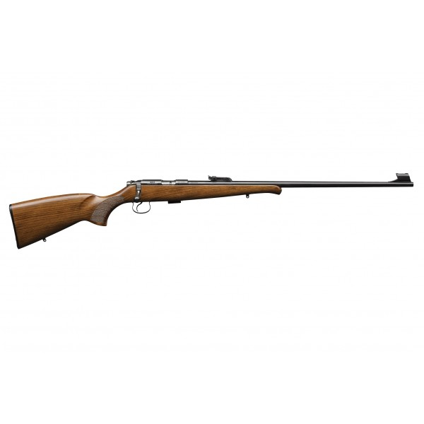 "CZ 455 Training Rifle 22LR With 24.8"" Barrel, Adjustable Target Rifle & Beechwood Stock With Schanbel Forend 02100"