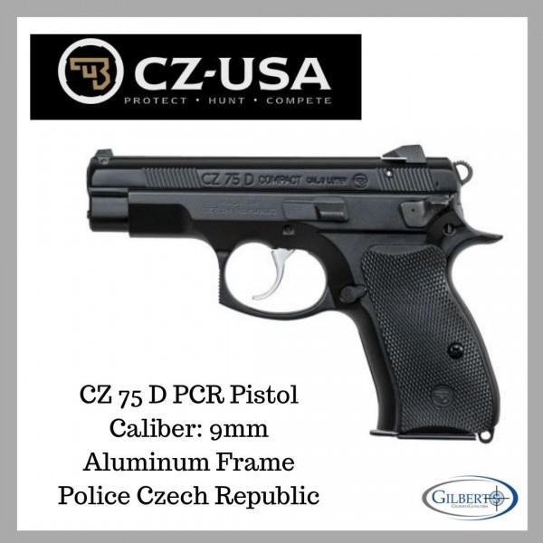 CZ 75D PCR Compact 9mm Pistol 91194