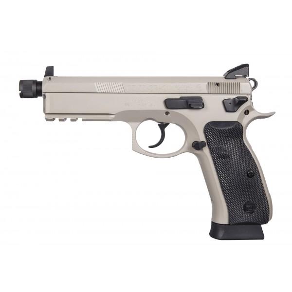 CZ 75 SP-01 Tactical 9mm Urban Grey Suppressor Ready Pistol  91253