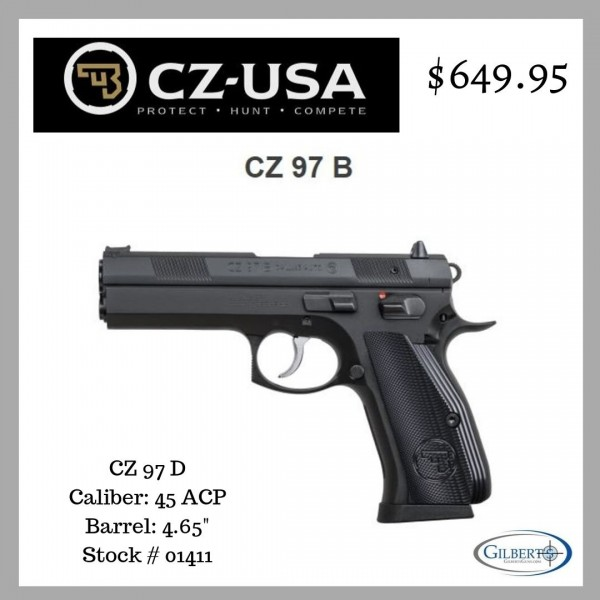 CZ 97B 45 ACP Pistol  01411