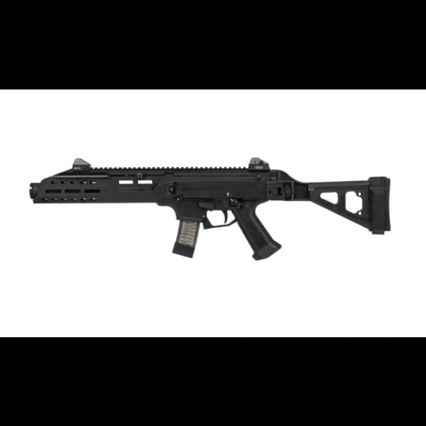 CZ Scorpion 9mm EVO3 S1 Pistol With Flash Can & SB Folding Brace 91354