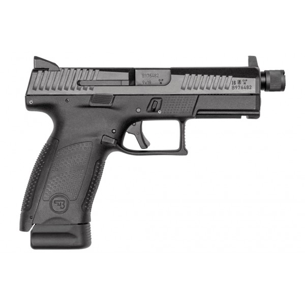 CZ P10 C Suppressor Ready 9mm Pistol With Night Sights 91523