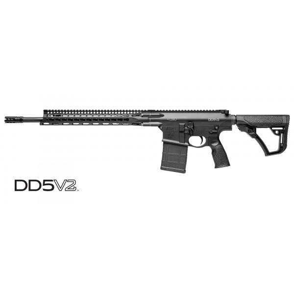 """Daniel Defense DD5V2 308 Rifle With 18"""" Barrel  02-155-19144-047"""