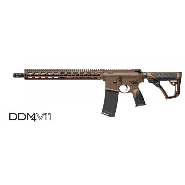 Daniel Defense DDM4 V11 300 Blackout Mil Spec + Rifle