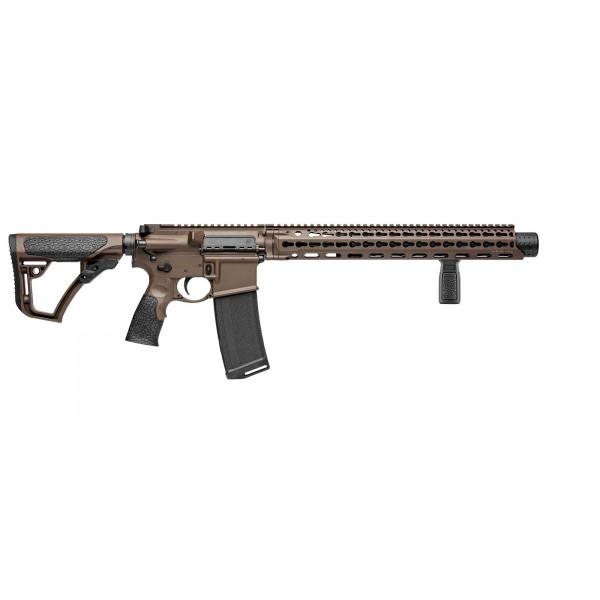 Daniel Defense ISR 300 Blackout Mil Spec + Rifle W/ Suppressor