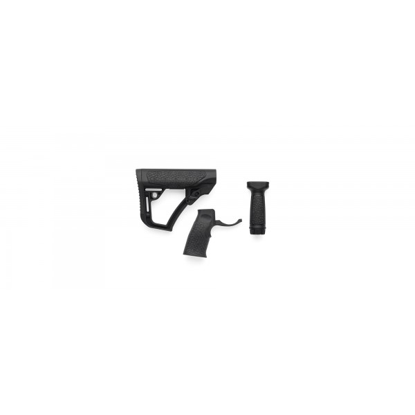 Daniel Defense Buttstock, Pistol Grip, Vertical Grip Combo