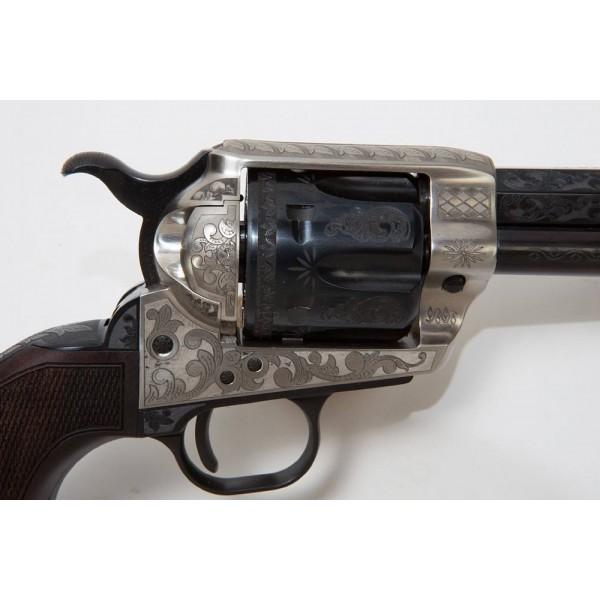 """EMF 1873 Great Western II Alchimista III Deluxe 45 LC 5 1/2"""" Revolver"""