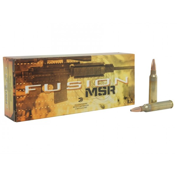 Federal F223MSR1 Fusion MSR 223 62 Grain Ammunition