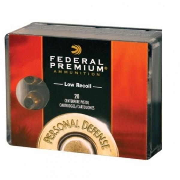 Federal Personal Defense Hydra Shok 40 Caliber 135 Grain JHP Low Recoil Ammunition PD40HS4H