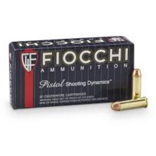 Fiocchi Pistol Shooting Dynamics 38 Special 125 Grain Ammunition