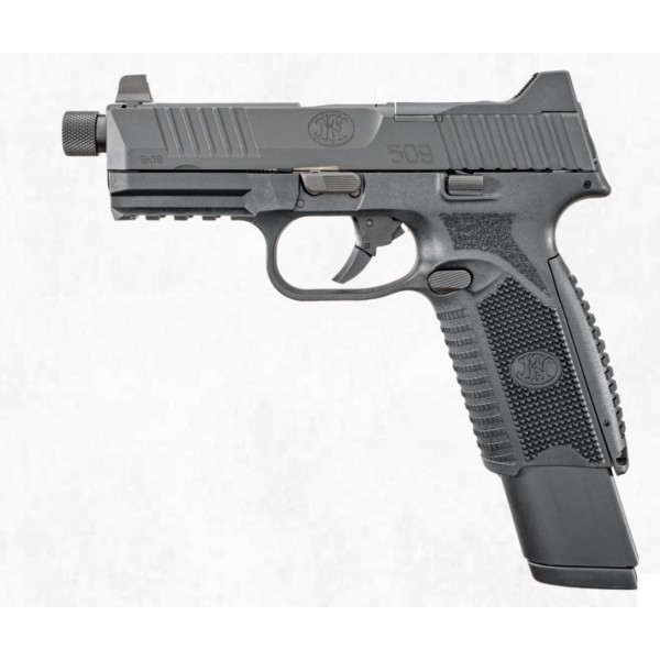 FN 509 Tactical 9mm Pistol With Night Sights & 3 Mags 66-100375