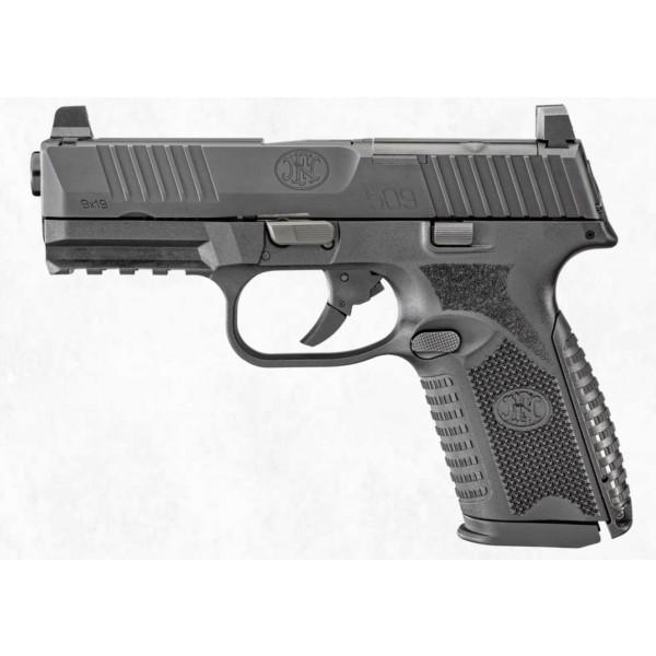 FN 509M MRD 9mm Optics Ready Pistol With 2-15 Round Magazines & Soft Case 66-100587