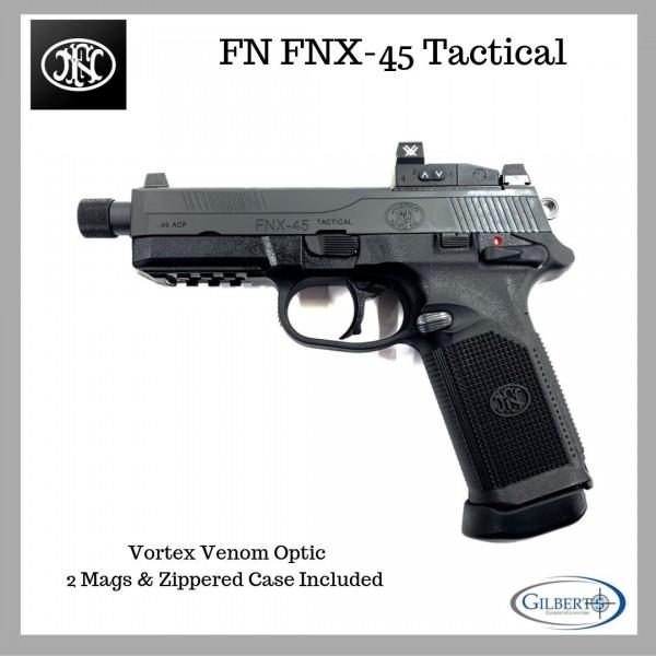 FN FNX-45 Tactical  45 ACP Pistol With Vortex Venom Optic
