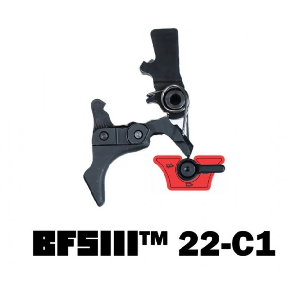 Franklin Armory BFSIII Ruger 10/22 Binary Firing System With Curved Trigger. BFSIII 22-C1