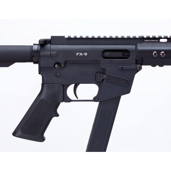 Freedom Ordnance FX-9 9mm Billet AR-15 Rifle With GLOCK Magazine
