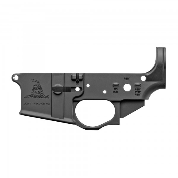 Spike's Tactical 5.56 Multi Caliber Gadsden Flag Stripped Lower Receiver