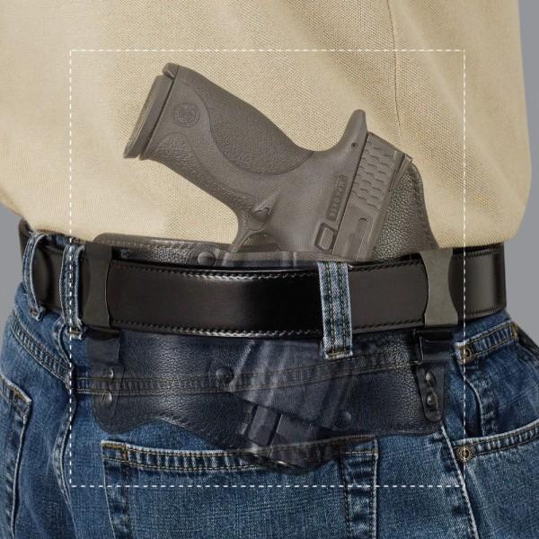 Galco KT224B Kingtuk IWB Holster For GLOCK 17 19 22 23 26 27 32 33 Pistols KT224B